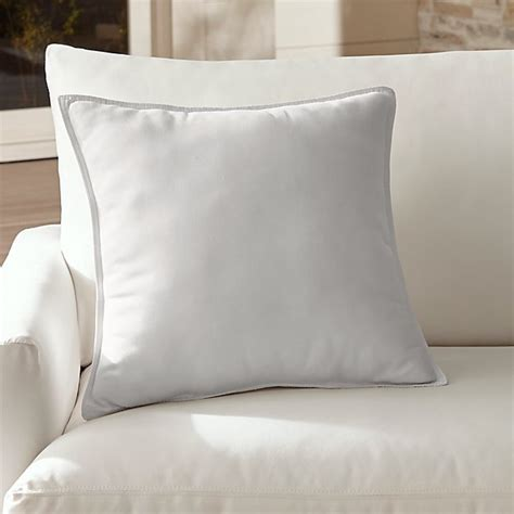 sunbrella white outdoor pillow reviews crate  barrel