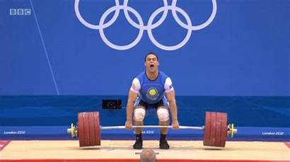 Jerk Clean Animated Weightlifting Gifs Olympic Strength