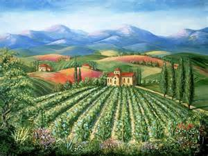free shipping flowers tuscan vineyard and by marilyn dunlap