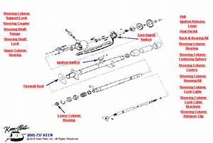 1980 Corvette Tilt  Telescoping Column Parts