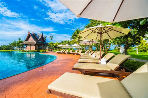 Tropical Resort Jigsaw Puzzle In Puzzle Of The Day Puzzles