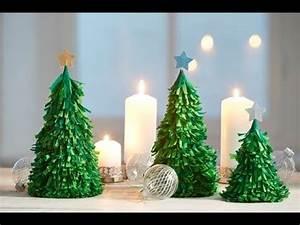 Weihnachtsdeko Basteln Papier : weihnachtsdeko aus papier youtube ~ Lizthompson.info Haus und Dekorationen