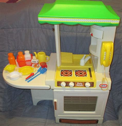 cuisine fisher price bilingue vintage 1980 39 s tikes kitchen with
