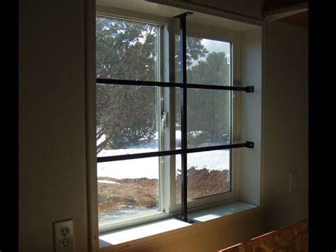 window security bars interior diy window security bars diy projects
