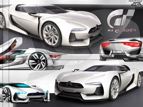 Wallpaper Citroen Gt Concept2 By Joel Design On Deviantart