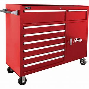 Homak H2PRO 56in 8-Drawer Roller Tool Cabinet — With 2