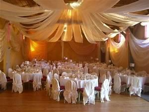 Idee Deco Salle De Mariage : decoration plafond salle de fete ~ Teatrodelosmanantiales.com Idées de Décoration