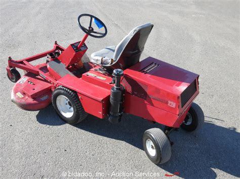 Used Mower Decks Toro by Toro Groundsmaster 220 Ride On Mower 52 Quot Rotary Deck Dual
