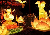 Celebrating Buddha's birthday festival in Seoul a ...