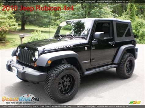 jeep dark gray 2010 jeep wrangler rubicon 4x4 black dark slate gray