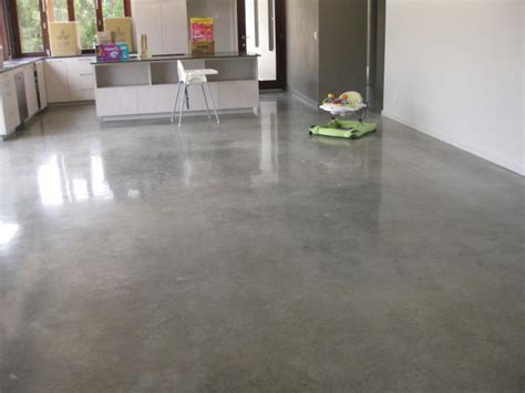 polished concrete floors homes