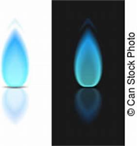 Estufa, gas, aislado, vector, llama, negro. Photo ...