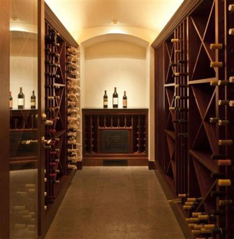 Wine Storage Rooms Not Limited To Basement Cellars