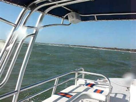 Trimaran Pontoon by Catamaran Coaches Fiberglass Trimaran Pontoon Goes