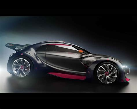 2010 Sport Cars by Citro 235 N Survolt Electric Sports Car Concept 2010