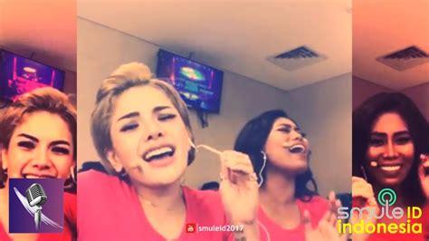 Nikita Mirzani Pun Mengagumi Suara Indah Evi Masamba Youtube