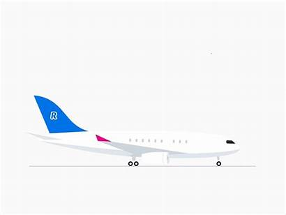 Plane Dribbble Fafafa