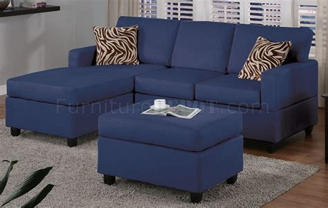 home depot sofa cama navy microfiber plush casual small sectional sofa w ottoman