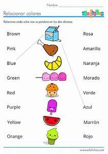 Actividades para aprender los colores en ingles para imprimir Ingles Pinterest Cuaderno