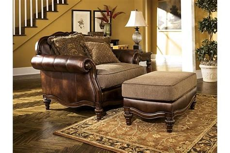 antique claremore oversized chair view 3 decor my way