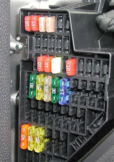 vw tiguan  fuse box diagram wiring library
