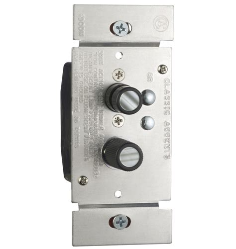 dimmer light switch trimmed push button dimmer switch rejuvenation
