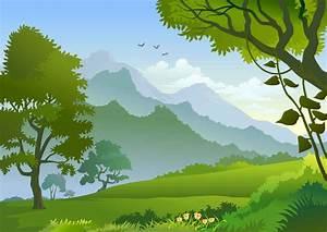 free forest landscape trees | Рисуем | Pinterest ...