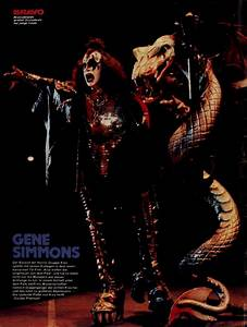 Gene Simmons 1978 – Bravo Posters
