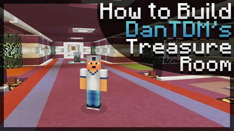 build dantdms treasure room  minecraft tutorial youtube