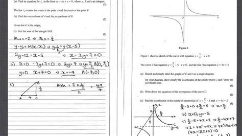 january  core mathematics  edexcel question paper