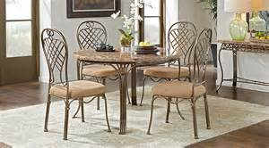 5 dining room sets alegra metal 5 pc dining set with top dining room sets metal