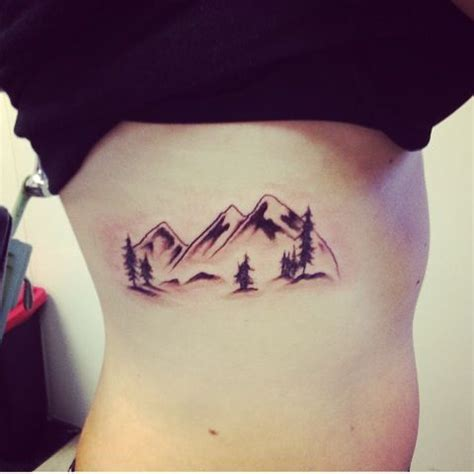 mountain tattoo tattooed beauty pinterest tatouage