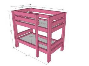18 inch doll loft bed plans 187 woodworktips