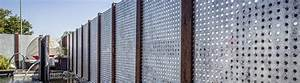 Edelstahl Sichtschutz Metall : eleganter metall sichtschutz aus hochwertigem stahl ~ Orissabook.com Haus und Dekorationen