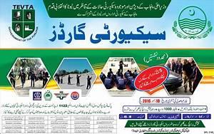 TEVTA Free Security Courses November 2016 December Punjab ...