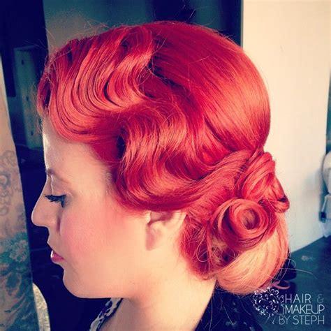 Finger Wave Updo Hairstyles by 96 Best Fingerwaves Pin Curls Fingerwave Styles