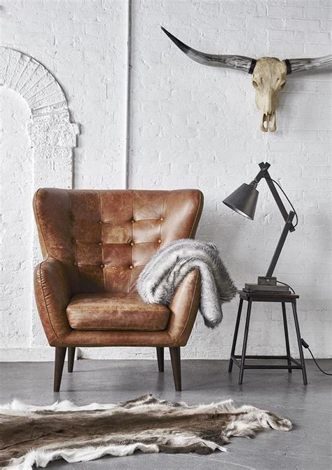 edgy leather home decor ideas   digsdigs