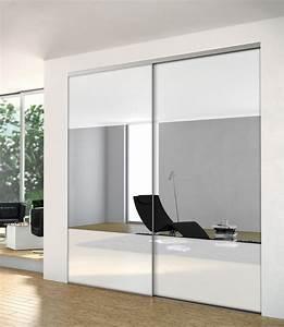 Porte Coulissante Miroir Placard : dressing avec miroir maison design ~ Melissatoandfro.com Idées de Décoration