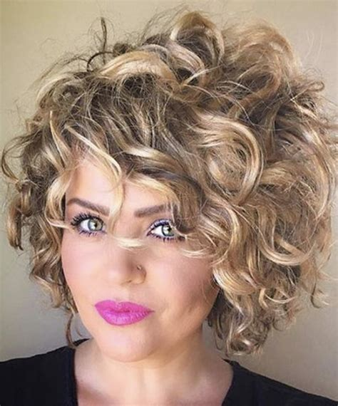 short curly hairstyles for women latesthairstylepedia com