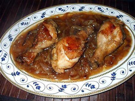 recette de quot pilons de poulet aux oignons caram 233 lis 233 s
