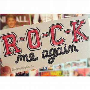 Rock Me- One Direction | Lyric Art / Artist Collage ...