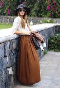 Street Style with Long Skirt