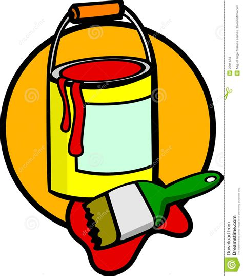 paint can clipart paint and brush clip clipart panda free