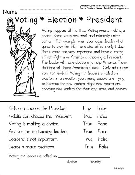election worksheets for elementary students election worksheets for elementary students worksheets for
