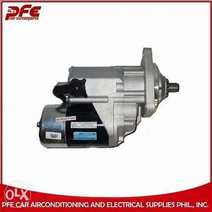 Cod Nationwide Car Starter Toyota 2c 20 Tamaraw Fx 10t  Car Parts  U0026 Accessories  Engine And