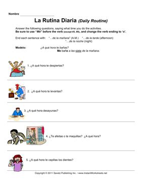daily routine in spanish essay checker thing letter