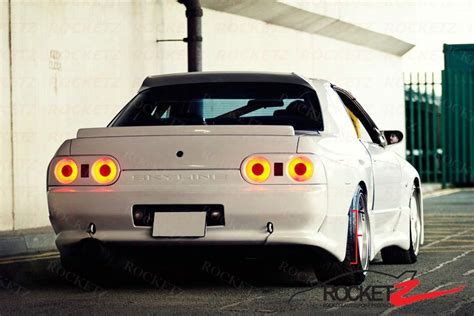 skyline  gtr nismo tbo style rear spats extension