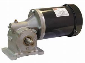Dayton Gear Motor 1 Hp 100 Rpm 203 460 Volt 3 Phase