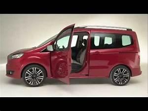 Ford Tourneo Courier Avis : nouveau ford tourneo courier youtube ~ Melissatoandfro.com Idées de Décoration