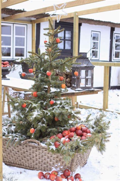 Décoration De Noël Extérieure Esprit Nature
